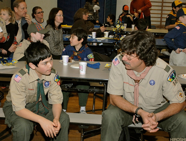 Bryce and Scoutmaster